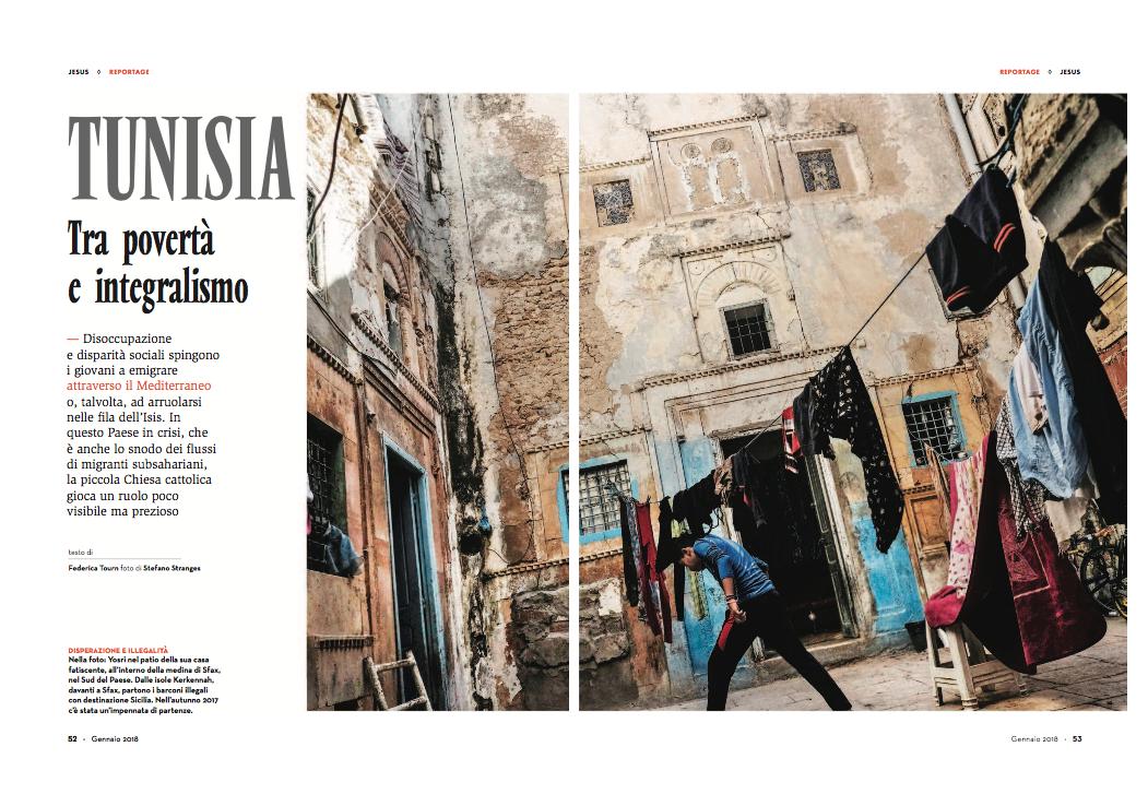 Stranges - Rivista Jesus - Tunisia gennaio 2018