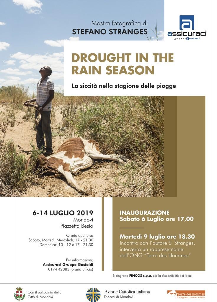drought in the rain season - mostra stefano stranges