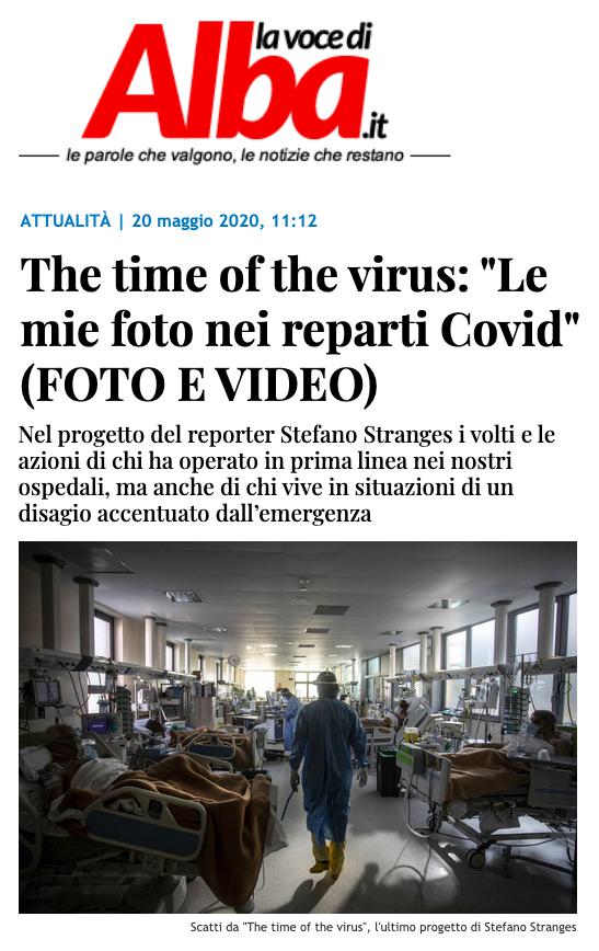 La voce di Alba - Life the time of the virus